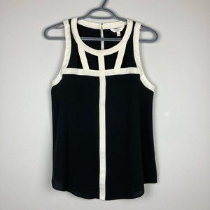 Candie's Cutout Sleeveless Blouse Small